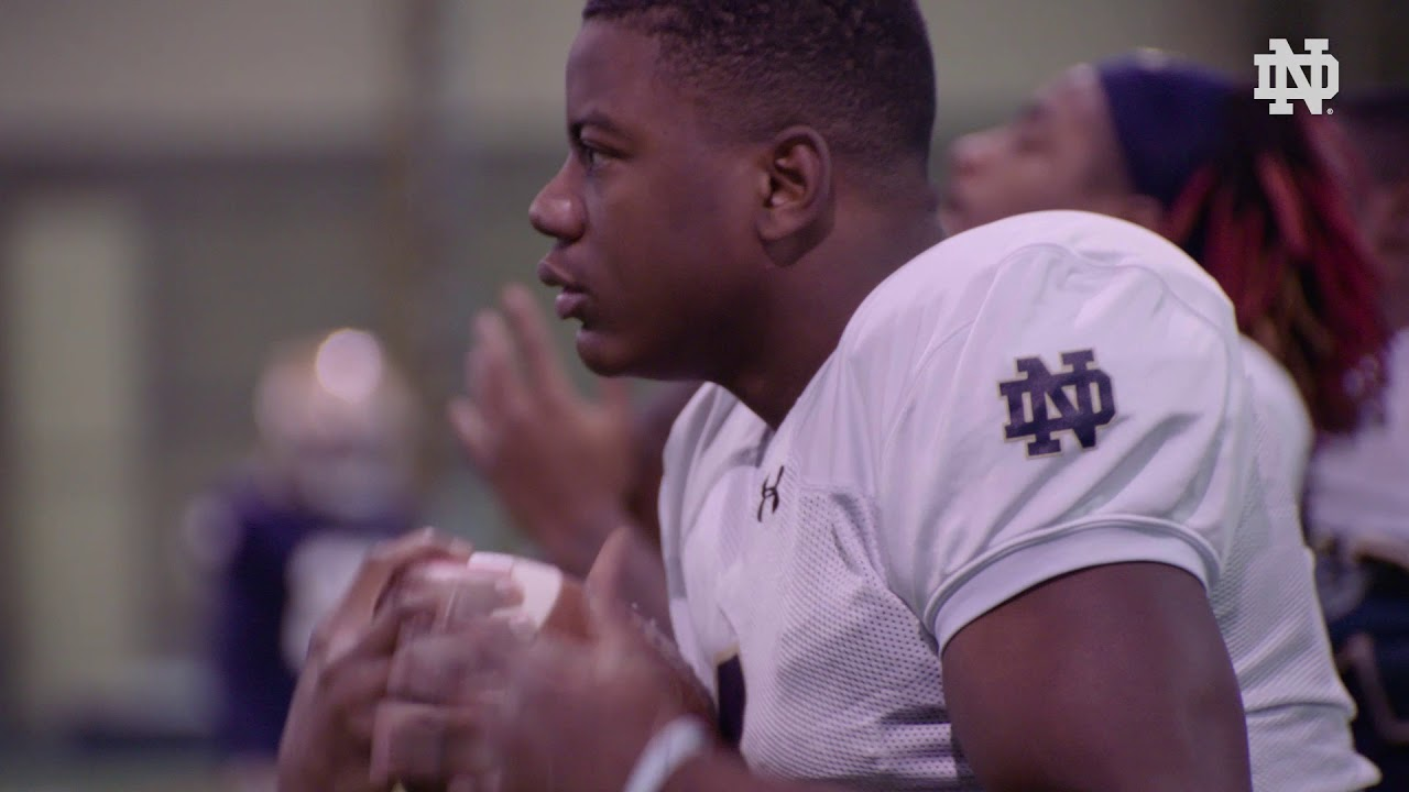 @NDFootball | 12/17 Practice Highlights (2018)