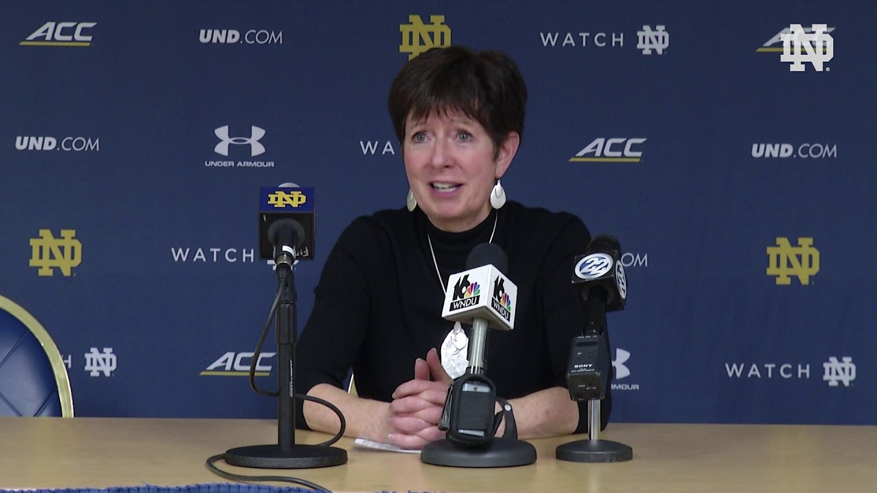 @ndwbb | Post-Game Press Conference vs. Binghamton (2018)