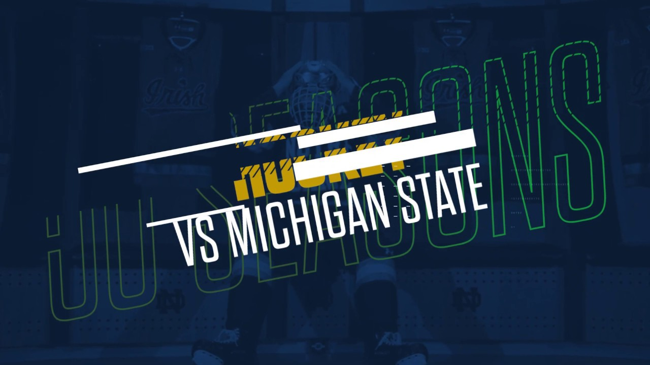 @NDHockey | Highlights vs. Michigan State, Game 1 (2019)