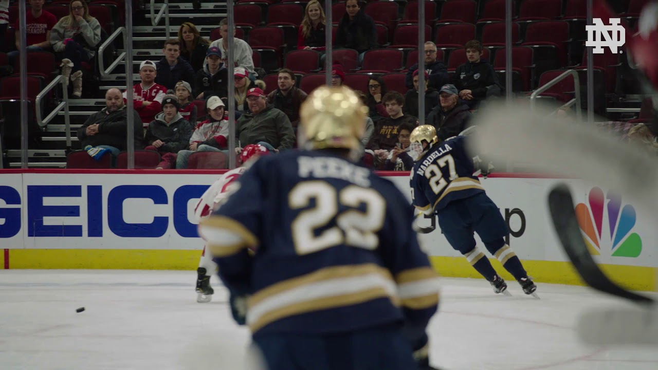Finish Strong | @NDHockey at Wisconsin Game 2 (2019)