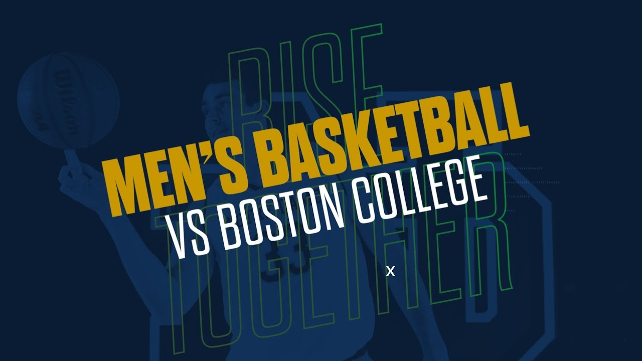 @NDMBB | Highlights vs. Boston College (2019)