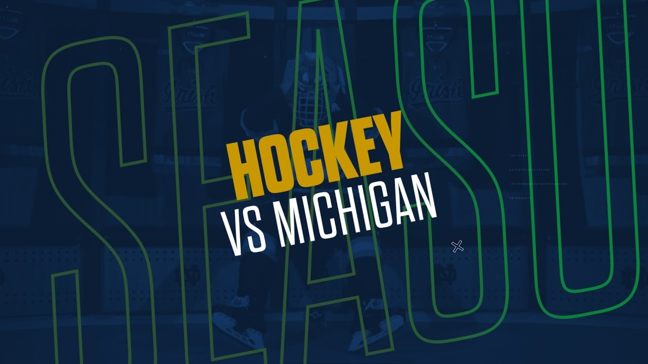 @NDHockey | Highlights vs. Michigan (2019)