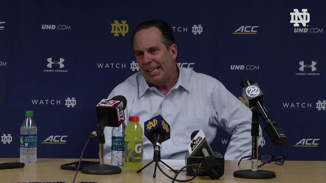 @NDMBB | Mike Brey Post-Game Press Conference vs. Syracuse (2019)