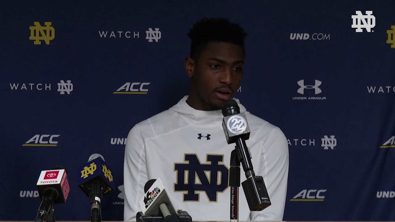 @NDMBB | Player Post-Game Press Conference vs. Syracuse (2019)