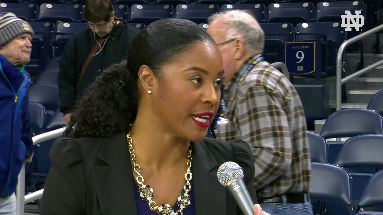 @ndwbb | Coach Niele Ivey Instant Reaction vs. Pittsburgh (2019)