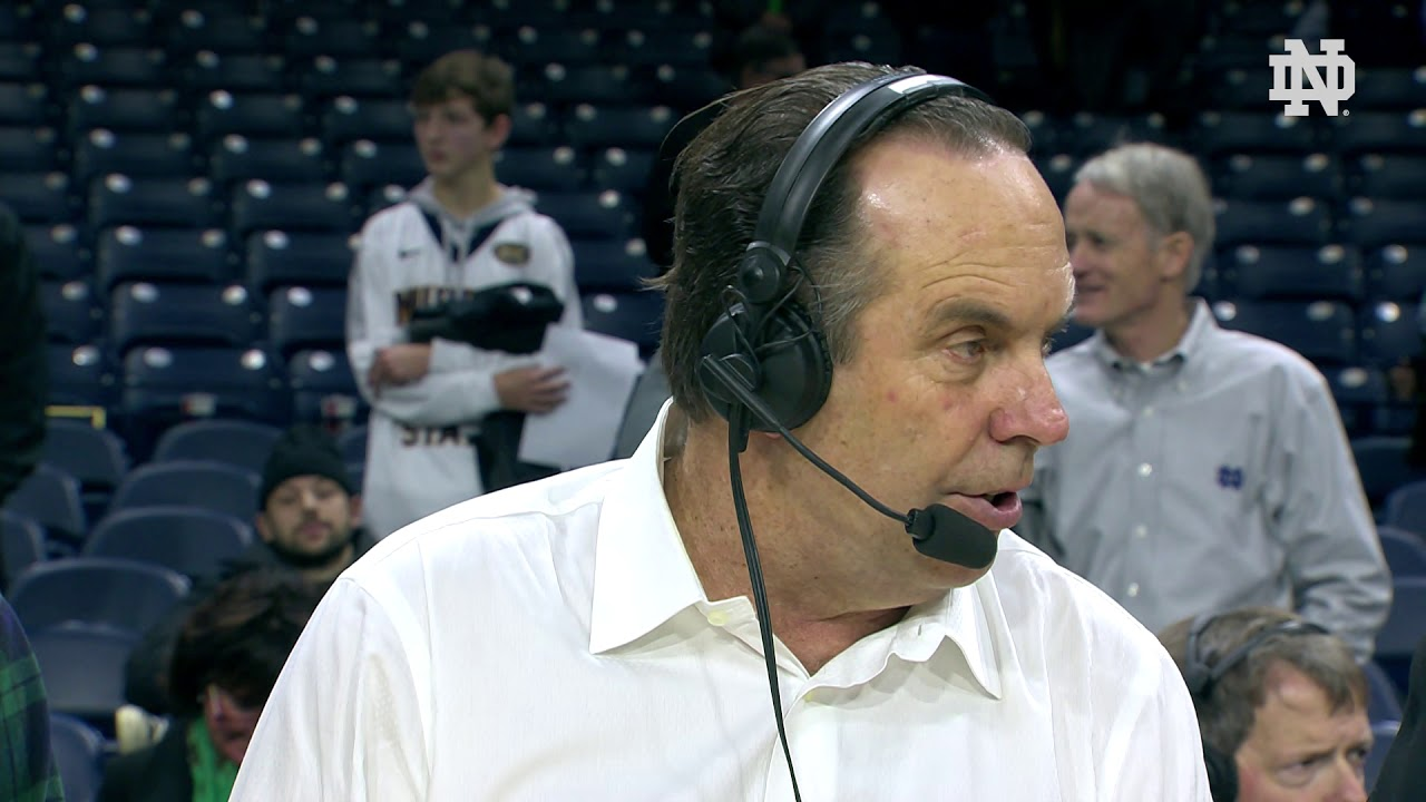 @NDMBB | Mike Brey Instant Reaction vs. Duke (2019)