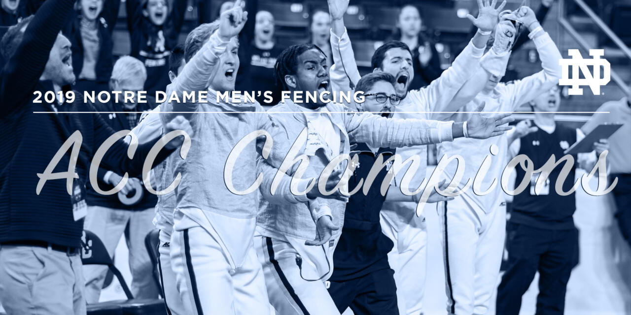 Men's Fencing ACC Championships