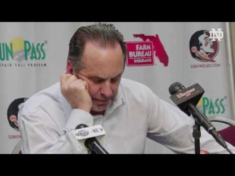 @NDMBB | Mike Brey Post-Game Press Conference at Florida State (2019)