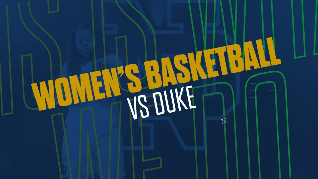 @ndwbb | Highlights vs. Duke (2019)