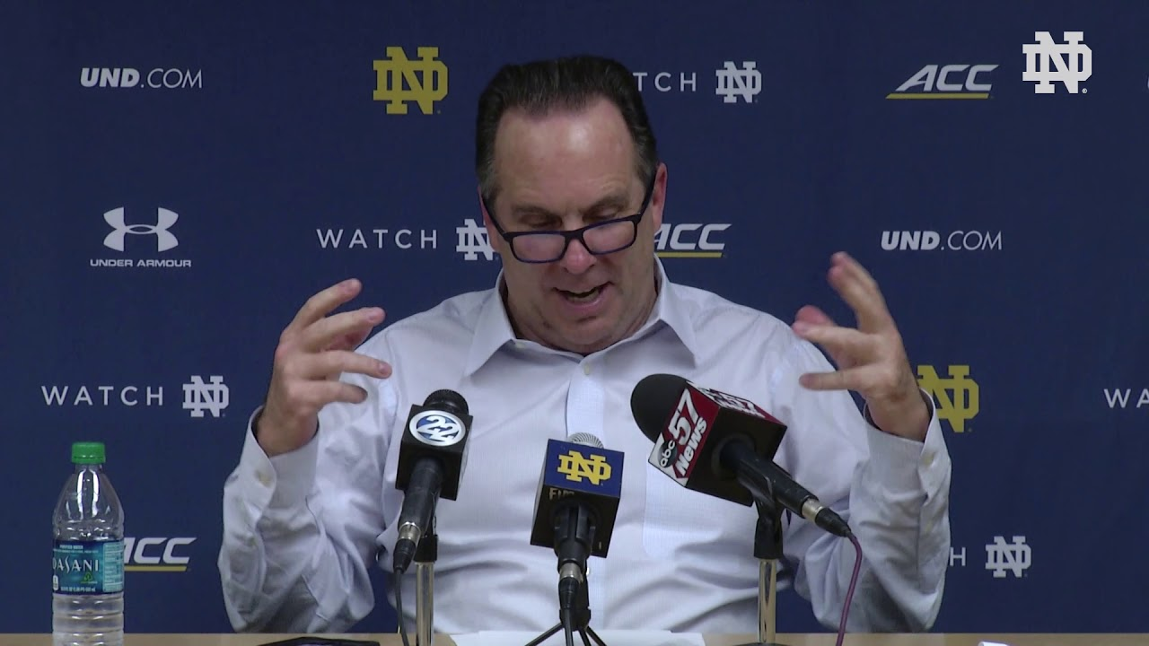 @NDMBB | Mike Brey Post-Game Press Conference vs. Wake Forest (2019)