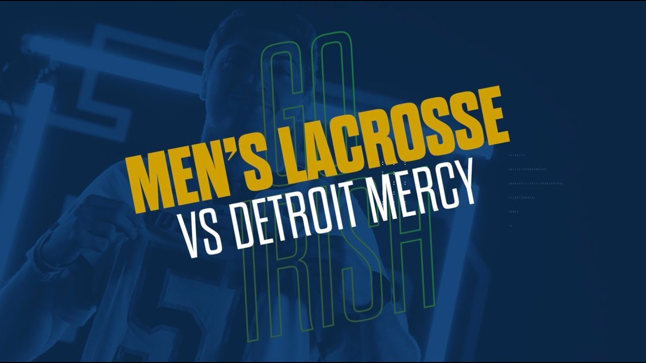 @NDlacrosse | Highlights vs. Detroit Mercy (2019)