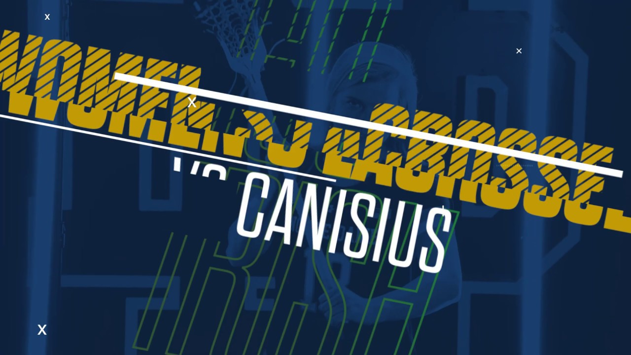 @NDWomensLax | Highlights vs. Canisius (2019)