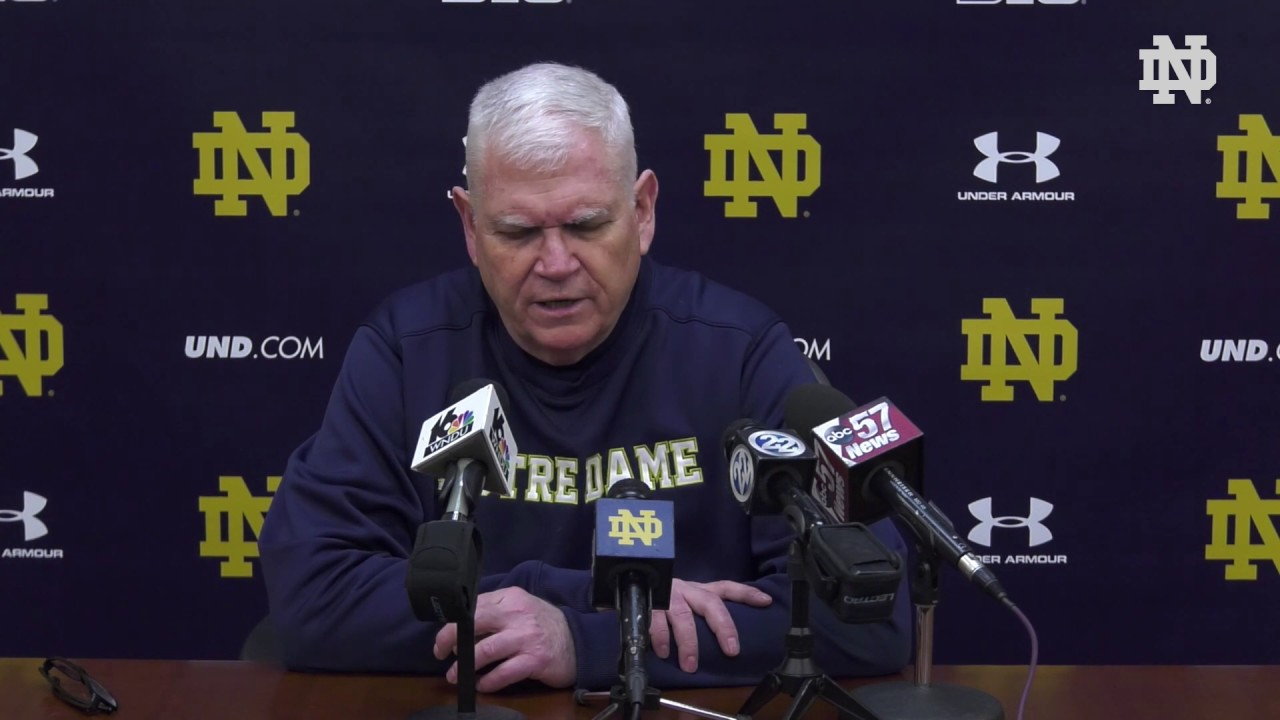 @NDHockey | Jeff Jackson Press Conference (2019)