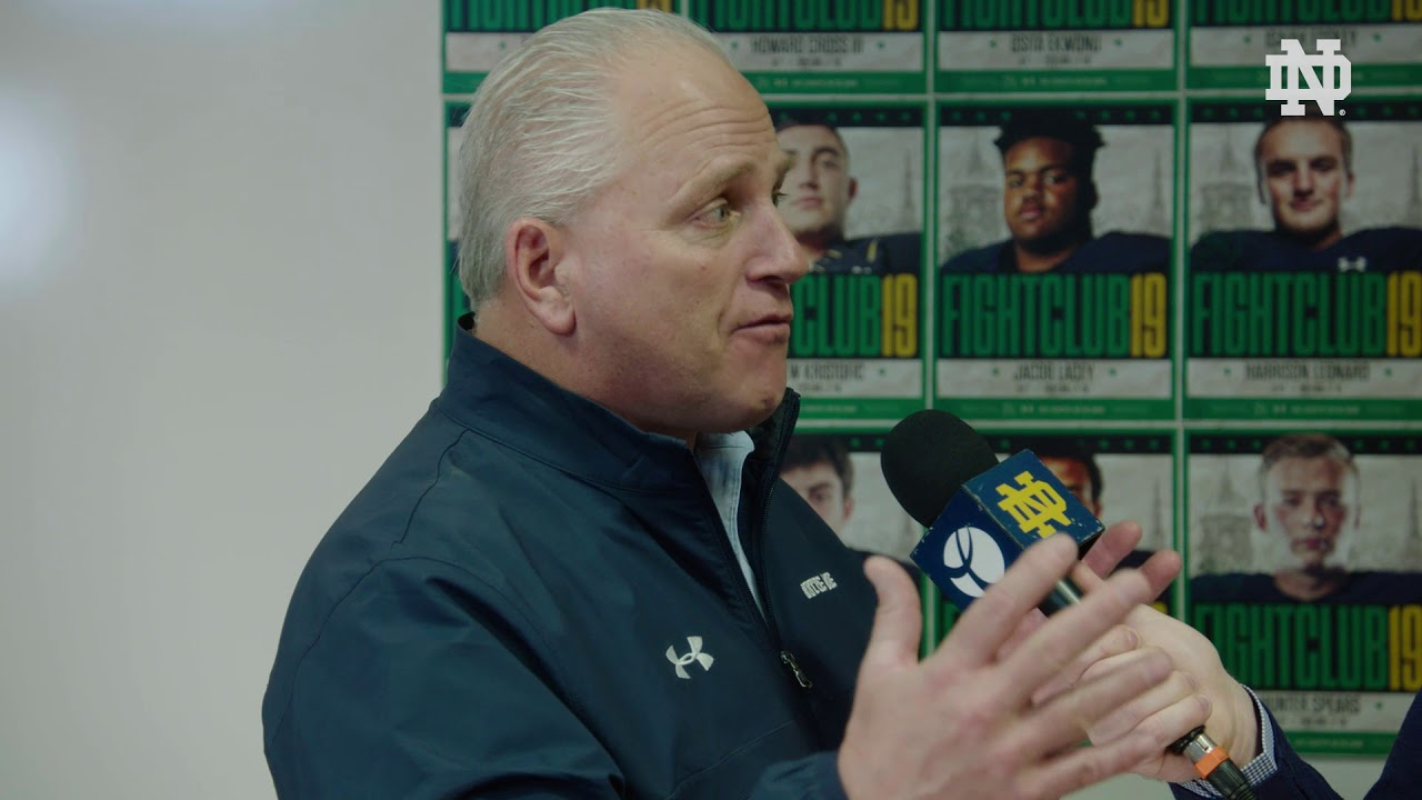 @NDFootball | Coach Quinn Signing Day Interview