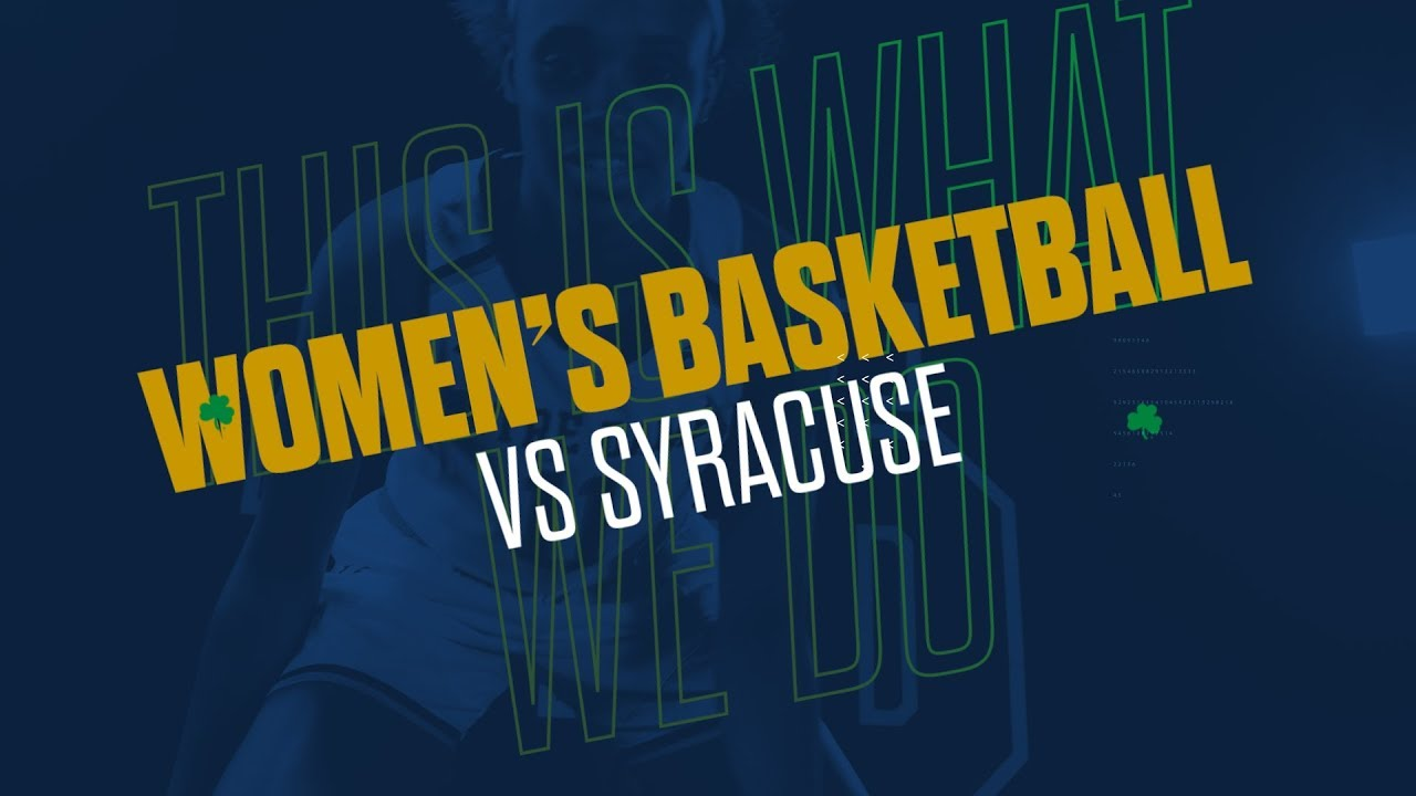 @ndwbb | Highlights at Syracuse (2019)