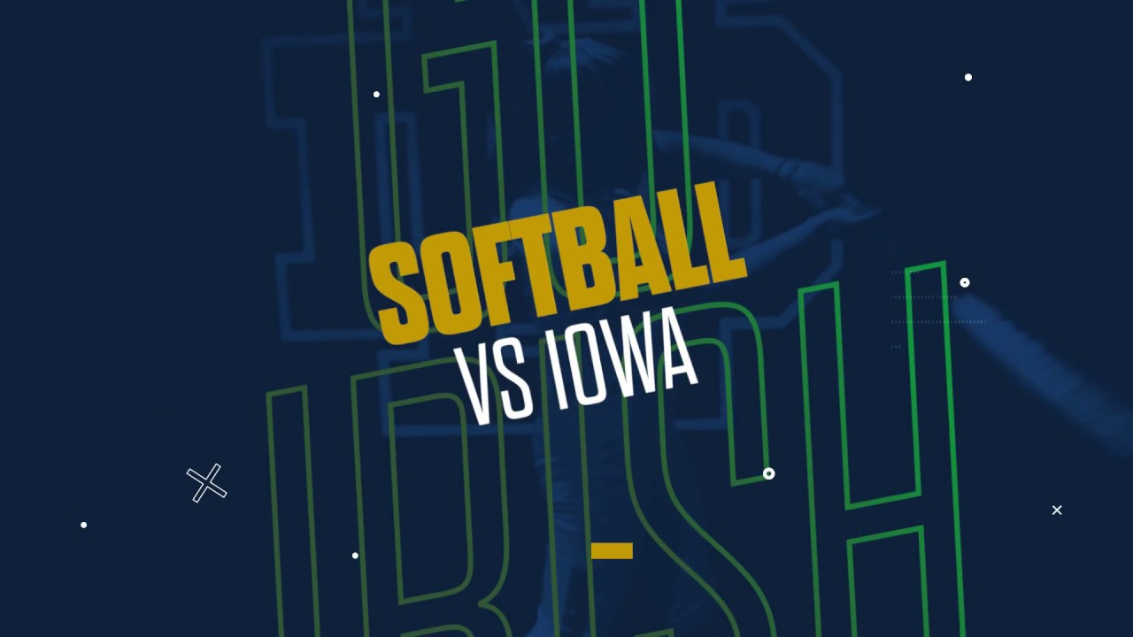 @NDsoftball | Highlights vs. Iowa (2019)