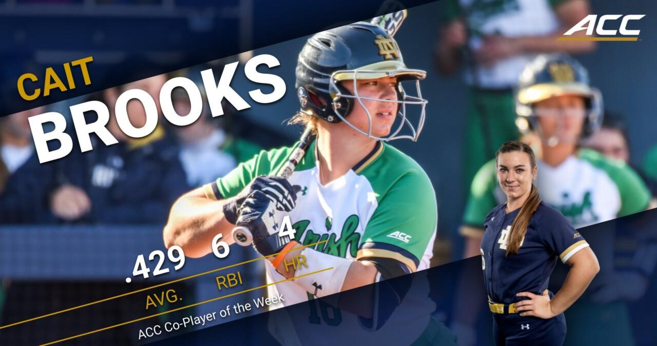 Cait Brooks ACC PotW