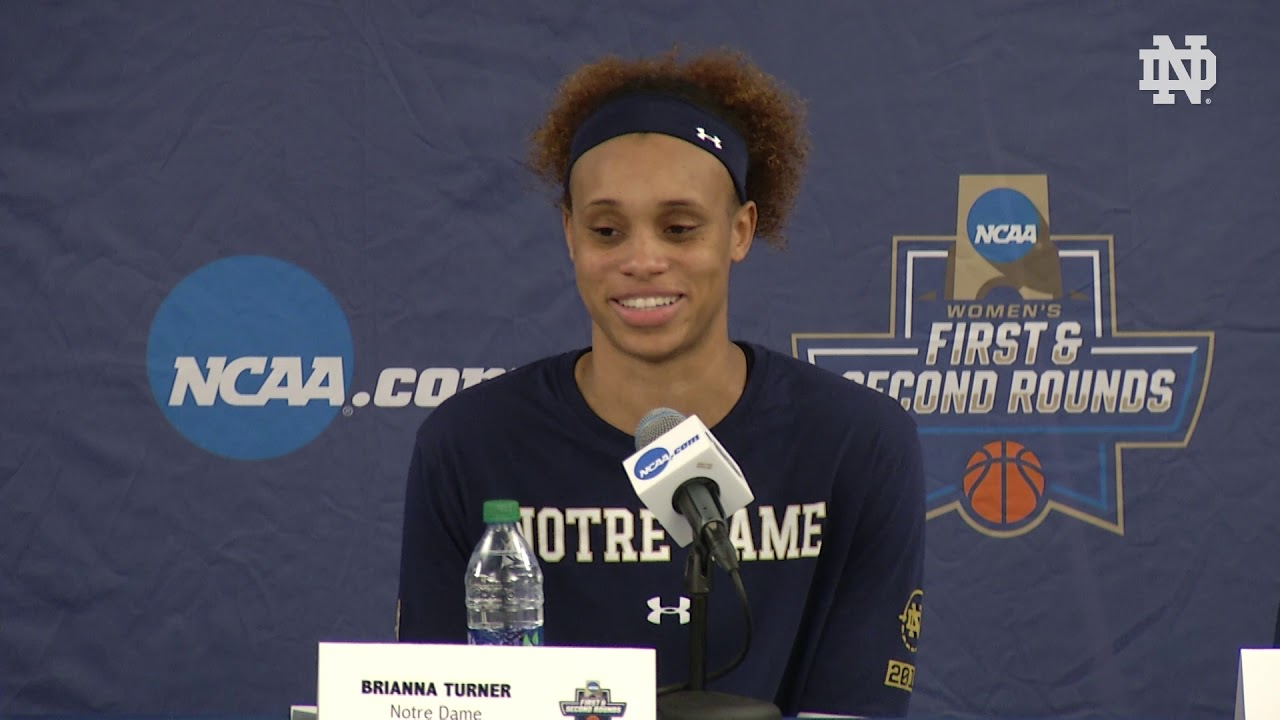 @ndwbb | Post-Game Press Conference vs. Michigan State, NCAA Second Round (2019)