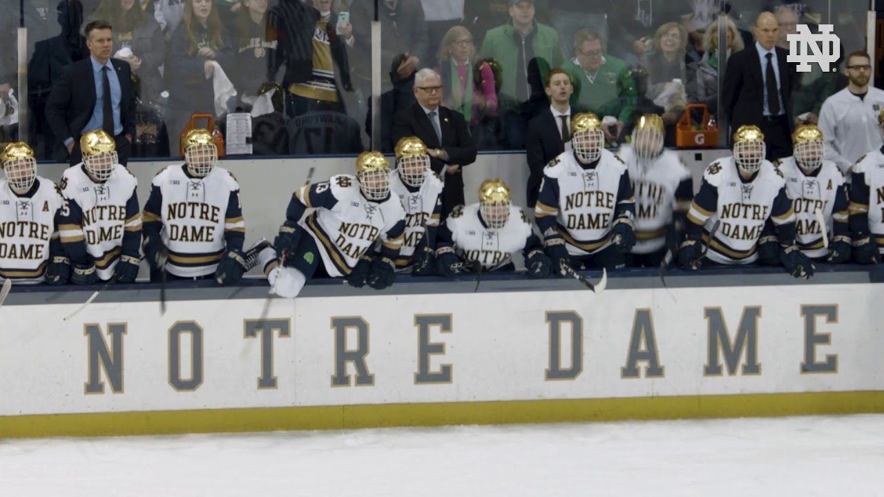 Finish Strong | @NDHockey - Penn State, B1G Championship (2019)