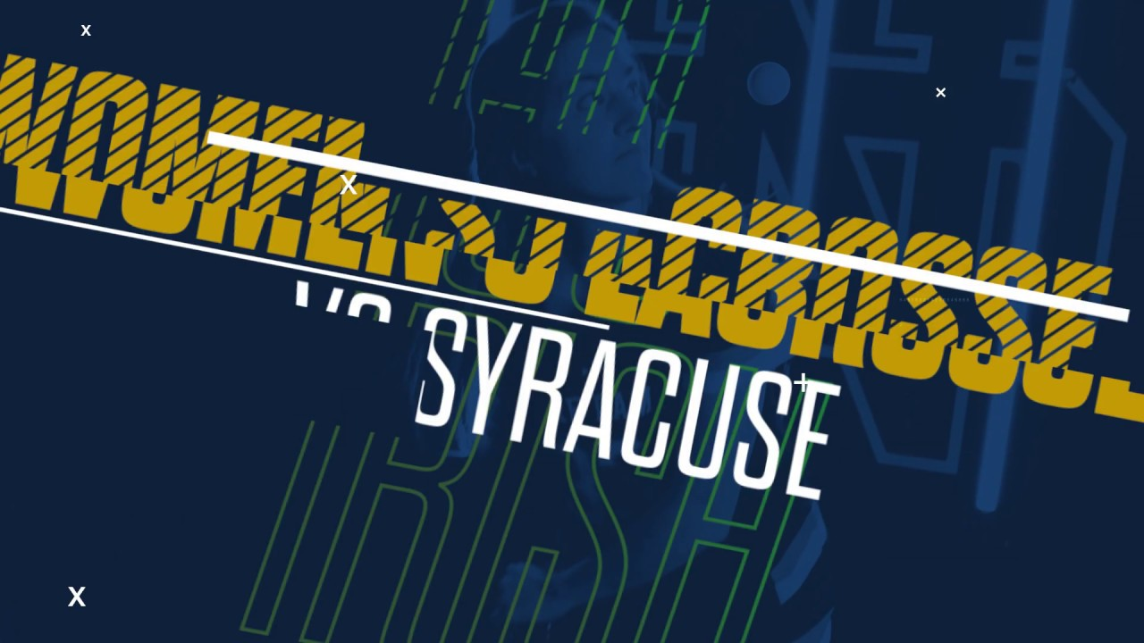 @NDWomensLax | Highlights at Syracuse (2019)