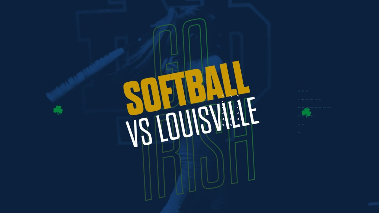@NDsoftball | Highlights vs. Louisville (2019)