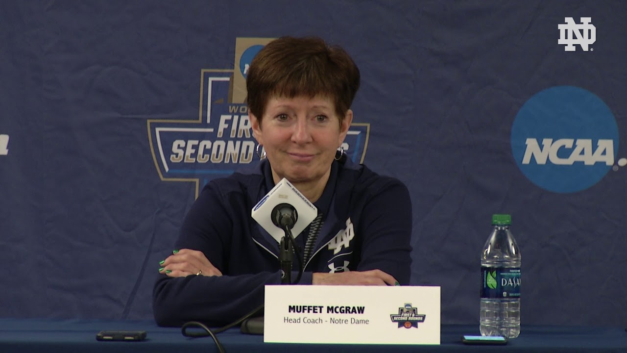 @ndwbb | Muffet McGraw Press Conference - NCAA Tournament Media Day 1 (2019)