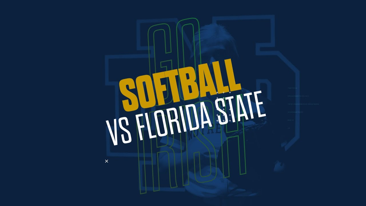 @NDsoftball | Highlights at Florida State (2019)