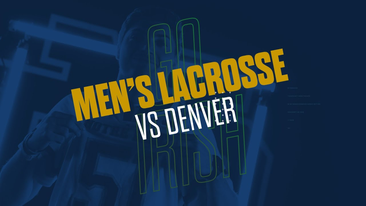 @NDlacrosse | Highlights vs. Denver (2019)