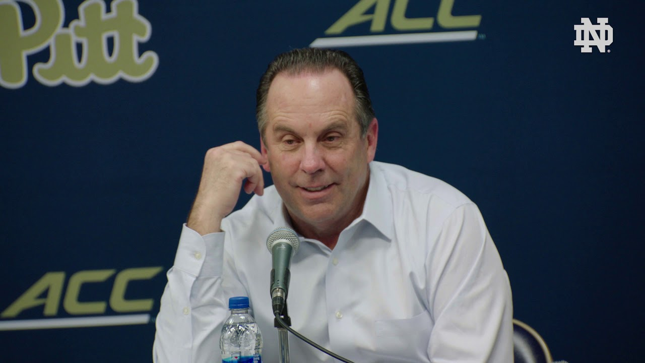 @NDMBB | Mike Brey Post-Game Press Conference at Pittsburgh (2019)