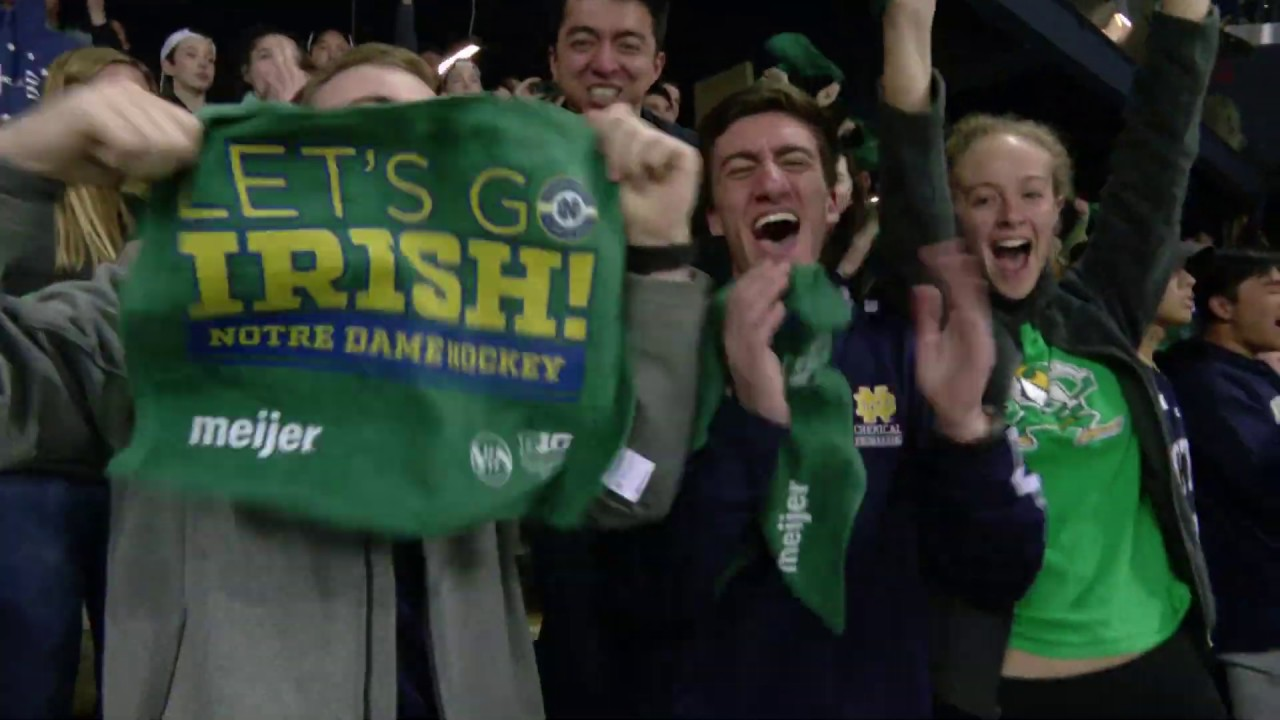 @NDHOCKEY | B1G Tournament vs. Michigan State (2019)