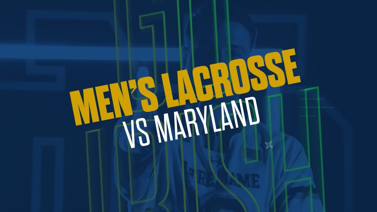 @NDlacrosse | Highlights vs. Maryland (2019)