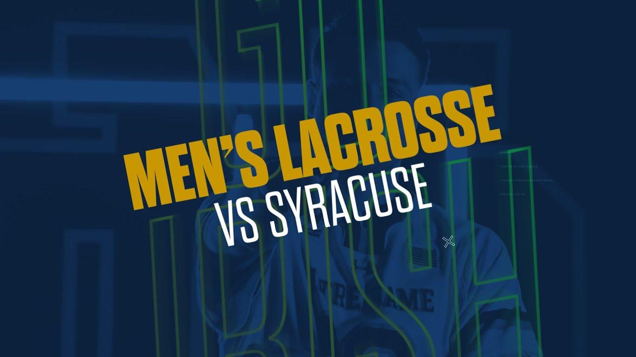 @NDlacrosse | Highlights vs. Syracuse (2019)