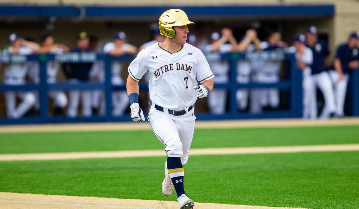 brand new 6280e 1bd35 Cavaliers Sweep Irish in Saturday Doubleheader – Notre Dame ...