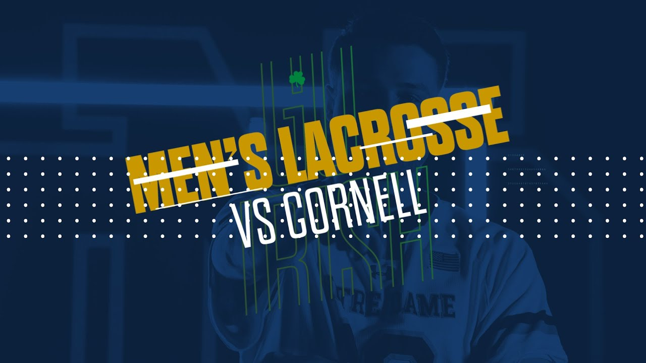 @NDlacrosse | Highlights vs. Cornell (2019)