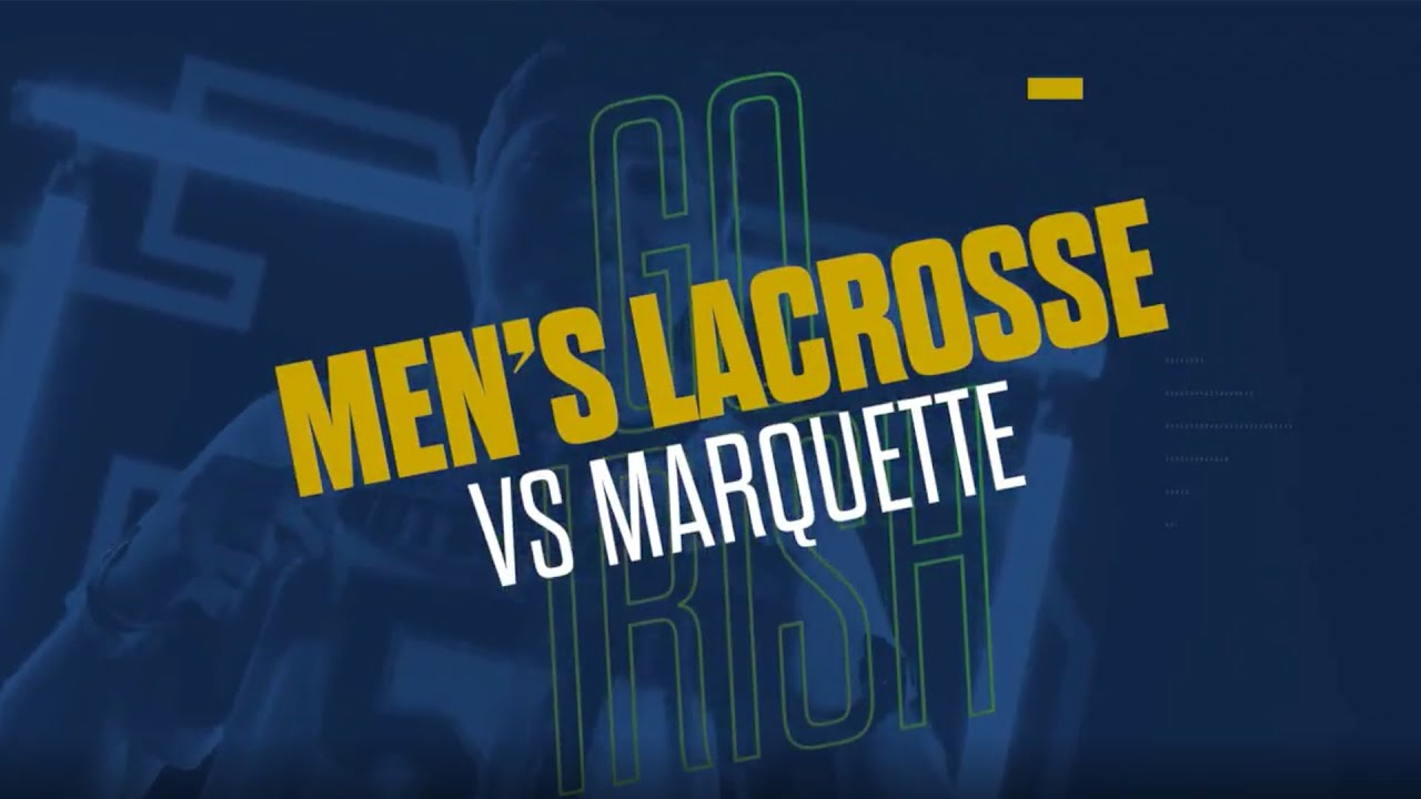 @NDlacrosse | Highlights at Marquette (2019)