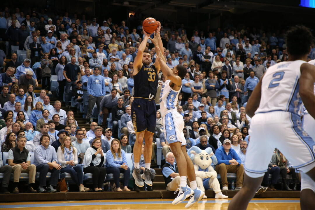 Irish Tip Off 2019 20 Season At No 9 11 North Carolina Notre