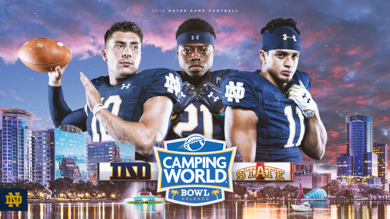 Irish To Seek Eleventh Win Against Iowa State In Camping World Bowl Notre Dame Fighting Irish Official Athletics Website