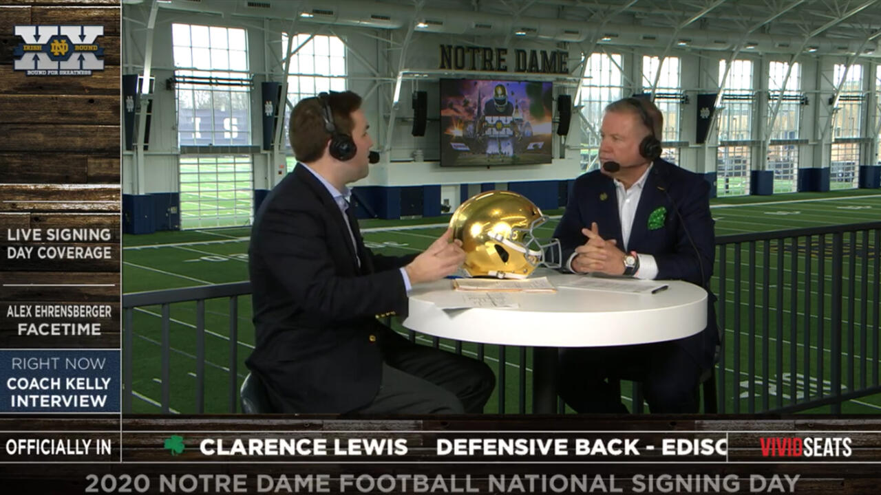 @NDFootball | National Signing Day Show – Notre Dame ...