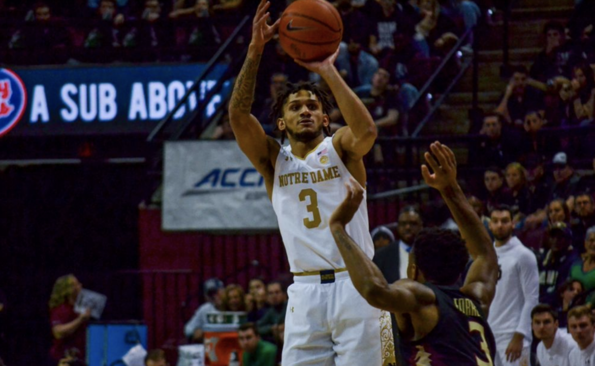 Irish Late Rally Falls Just Short At #5 Florida State