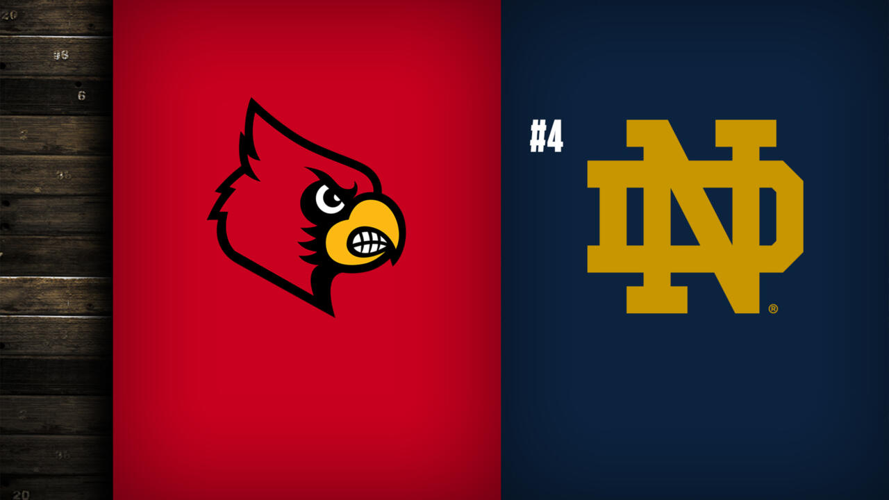 #4 Notre Dame Rounds Out Home Stand vs. Louisville