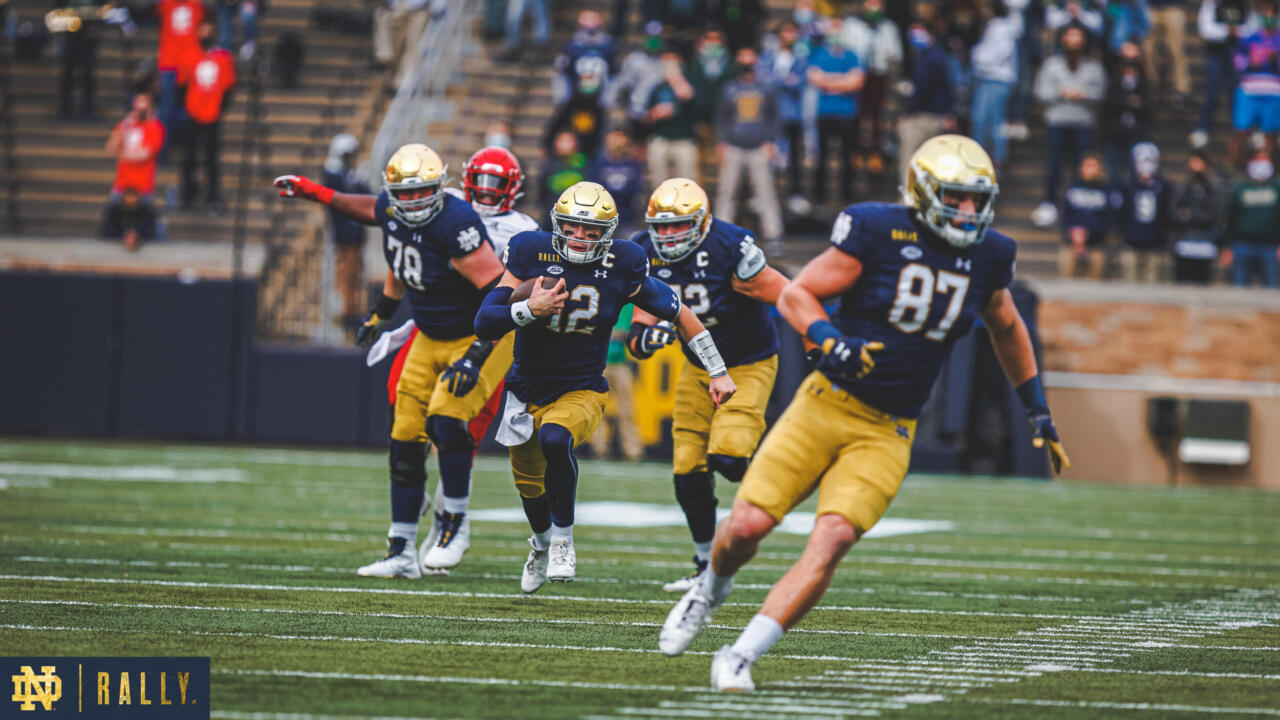The Vault: ND on NBC – Notre Dame vs. Louisville (2020 ...