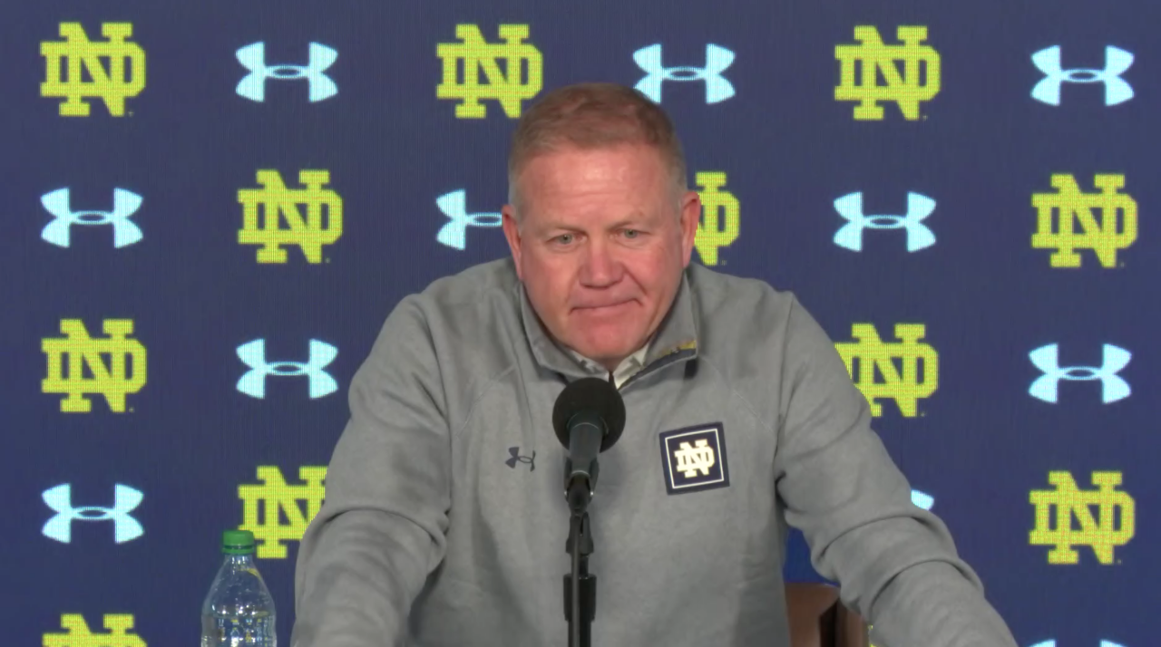 @NDFootball | Brian Kelly Press Conference – Louisville ...